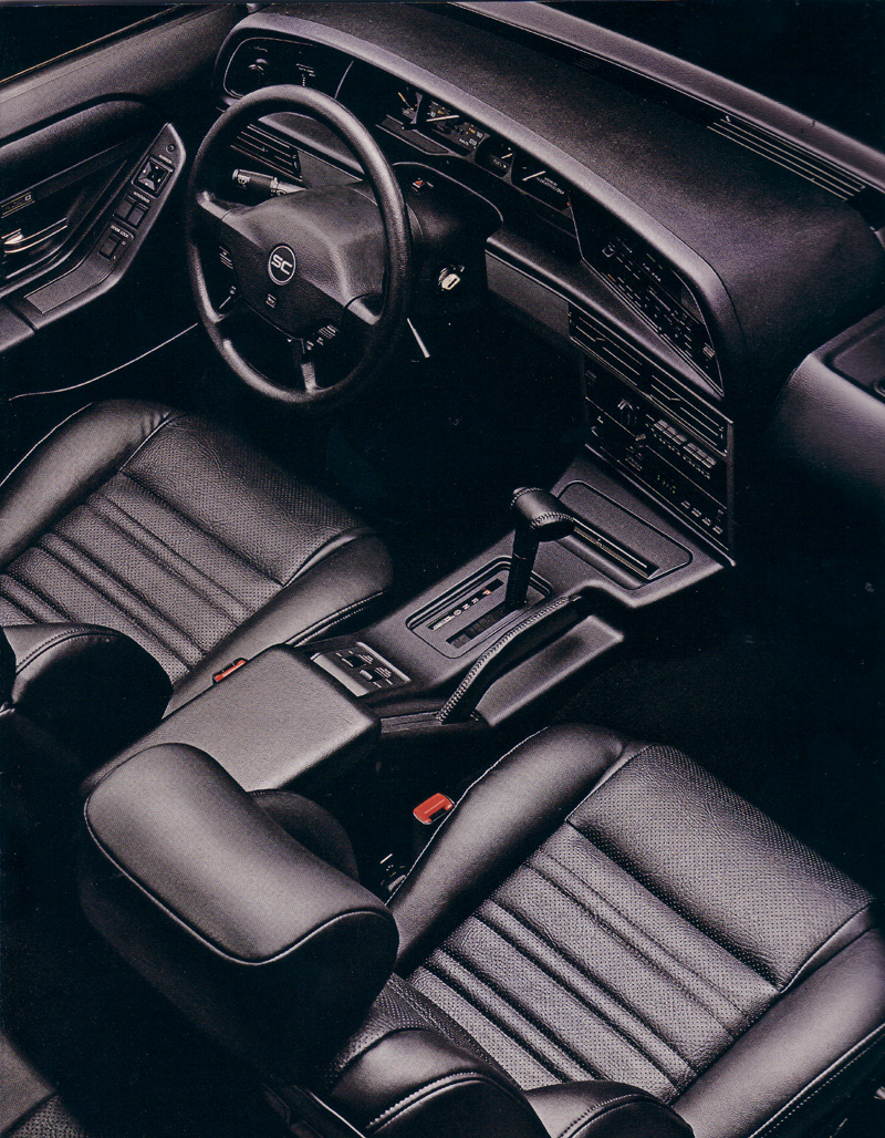 Page 4 1993 ford thunderbird brochure