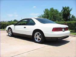 Eric Bryan of Houston, Texas, USA's 1989 Ford Thunderbird SC