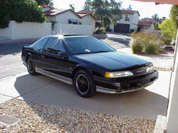 Marty Fettman of Phoenix, Arizona's 1990 35th Anniversary Edition Thunderbird SC - auto