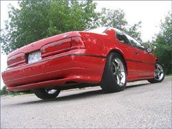 Dean Simmons of London, Ontario, Canada's 1992 Ford Thunderbird SC